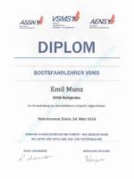 Bootsfahrlehrer VSMS