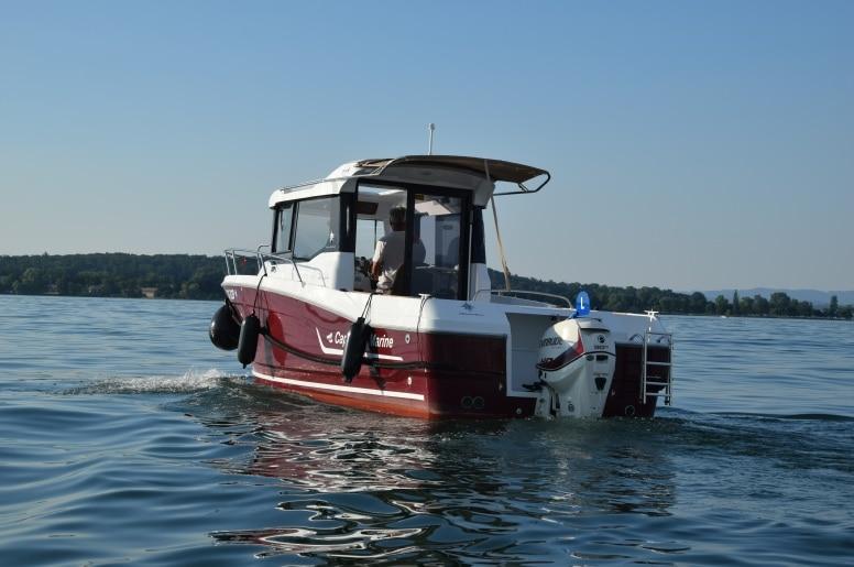 Ficken auf dem Boot am Bodensee