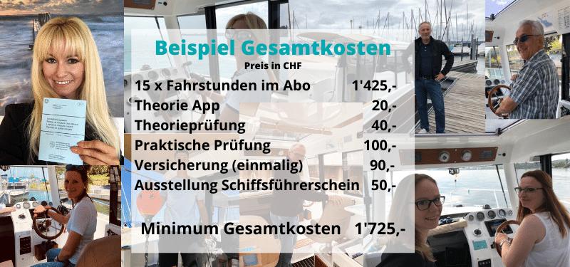 Bootsfahrschule Emil Munz am Bodensee_Was kostet ein Bootführerschein_Beispiel Gesamtkosten
