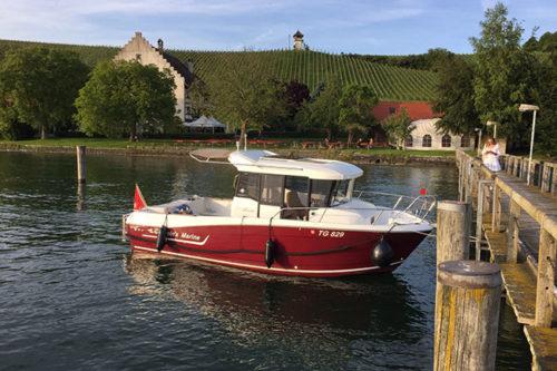 Motorboot Vermietung Bodensee