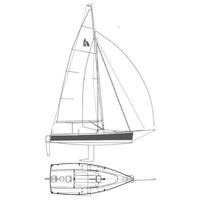 Bootscharter am Bodensee Segelboot H22
