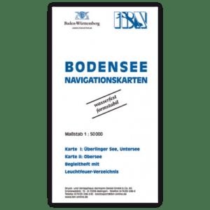 Bodensee-Navigationskarten. Damit Sie den Überblick behalten.