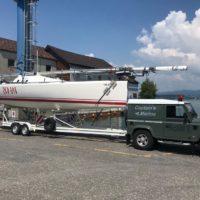 Bootstransporte am Bodensee von CaptainsMarine, der Bootsfahrschule am Bodensee von Emil Munz