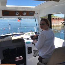 Mit der Bootsfahrschule CaptainsMarine von Emil Munz am Bodensee locker zur Prüfung und natürlich bestanden!