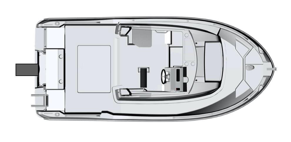 Fahrschulboot am Bodensee mit E-Motor