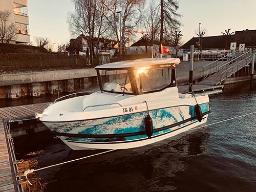 Schulungsboot Emil Munz CaptainsMarine